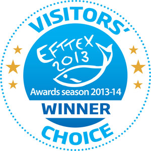 Besucher Auswahl Efttex Award 2013 im Angelshop