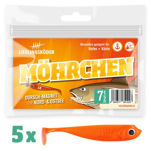 Lieblingsköder Möhrchen 75 mm