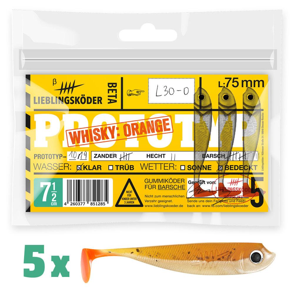 Lieblingsköder Whisky Orange 75 mm
